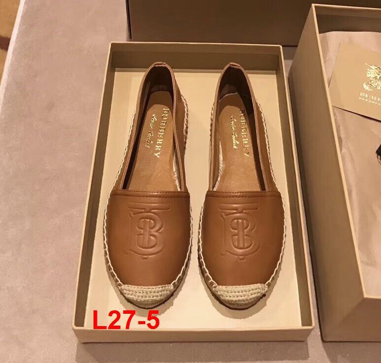 L27-5 Burberry giày lười siêu cấp