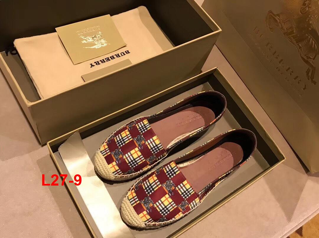 L27-9 Burberry giày lười siêu cấp