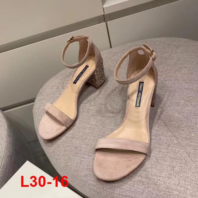 L30-16 Stuart Weitzman sandal cao 6cm siêu cấp