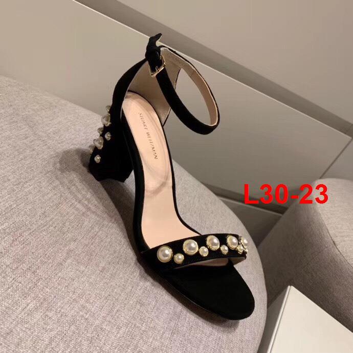 L30-23 Stuart Weitzman sandal cao 7cm, 3cm siêu cấp