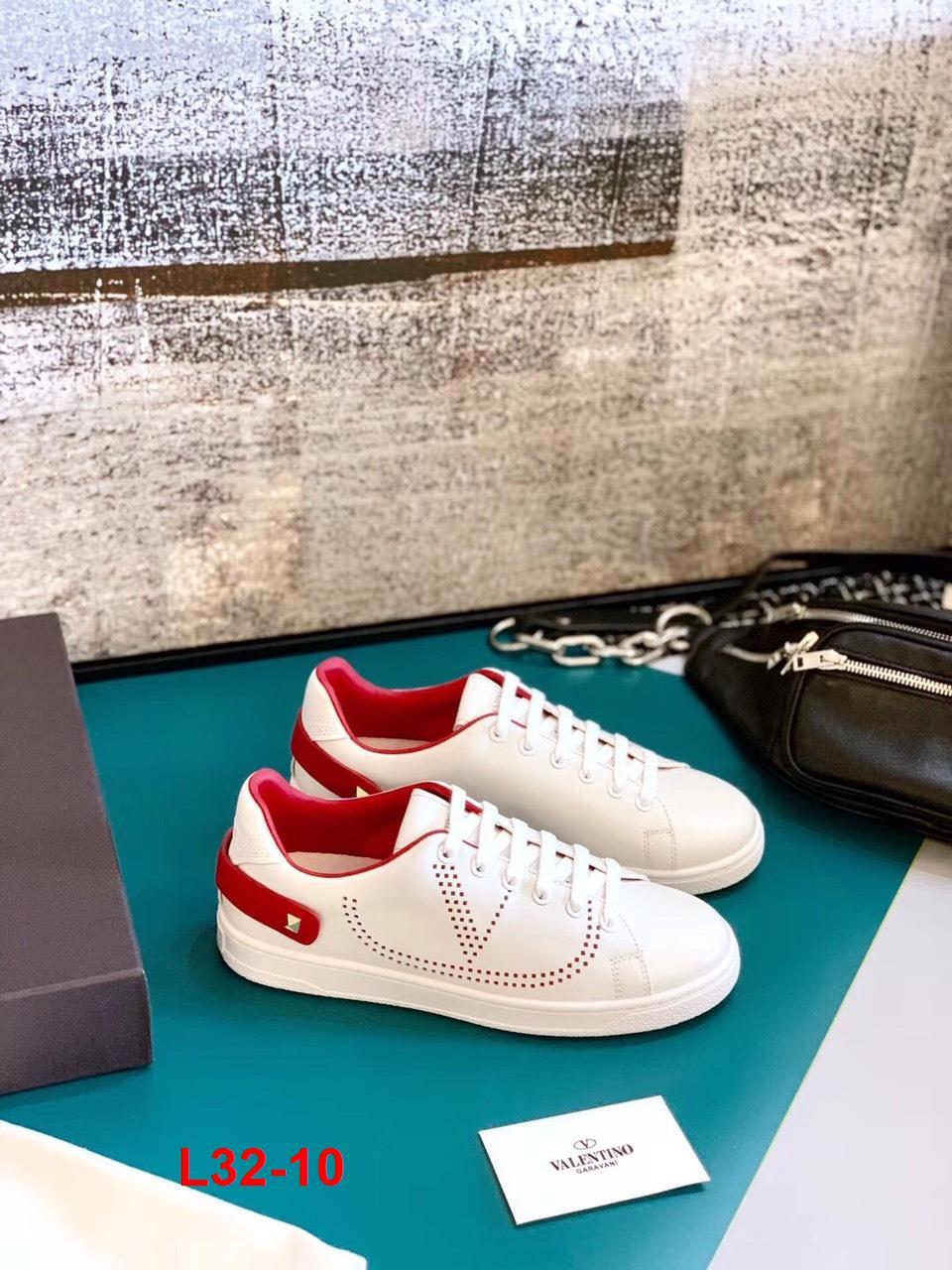 L32-10 Valentino giày thể thao siêu cấp