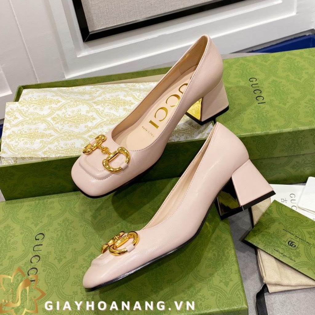 L38-108 Gucci giày cao 2cm, 5cm , 8cm siêu cấp