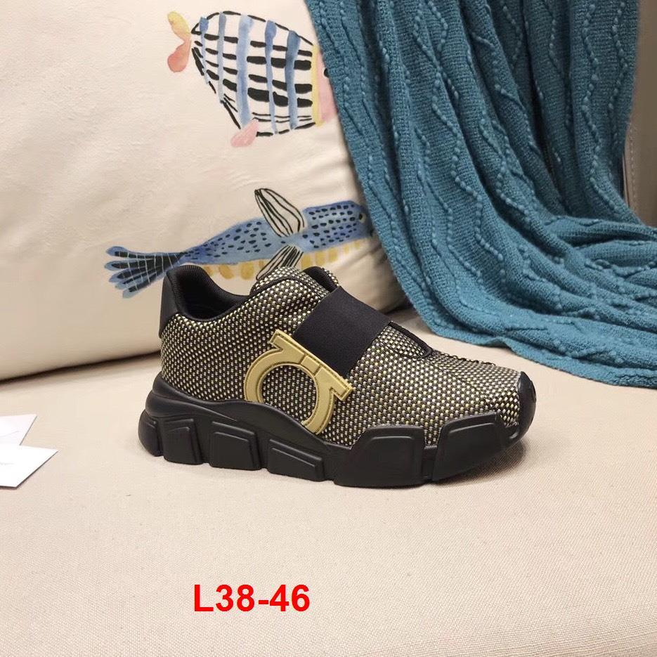 L38-46 Salvatore Ferragamo giày thể thao siêu cấp