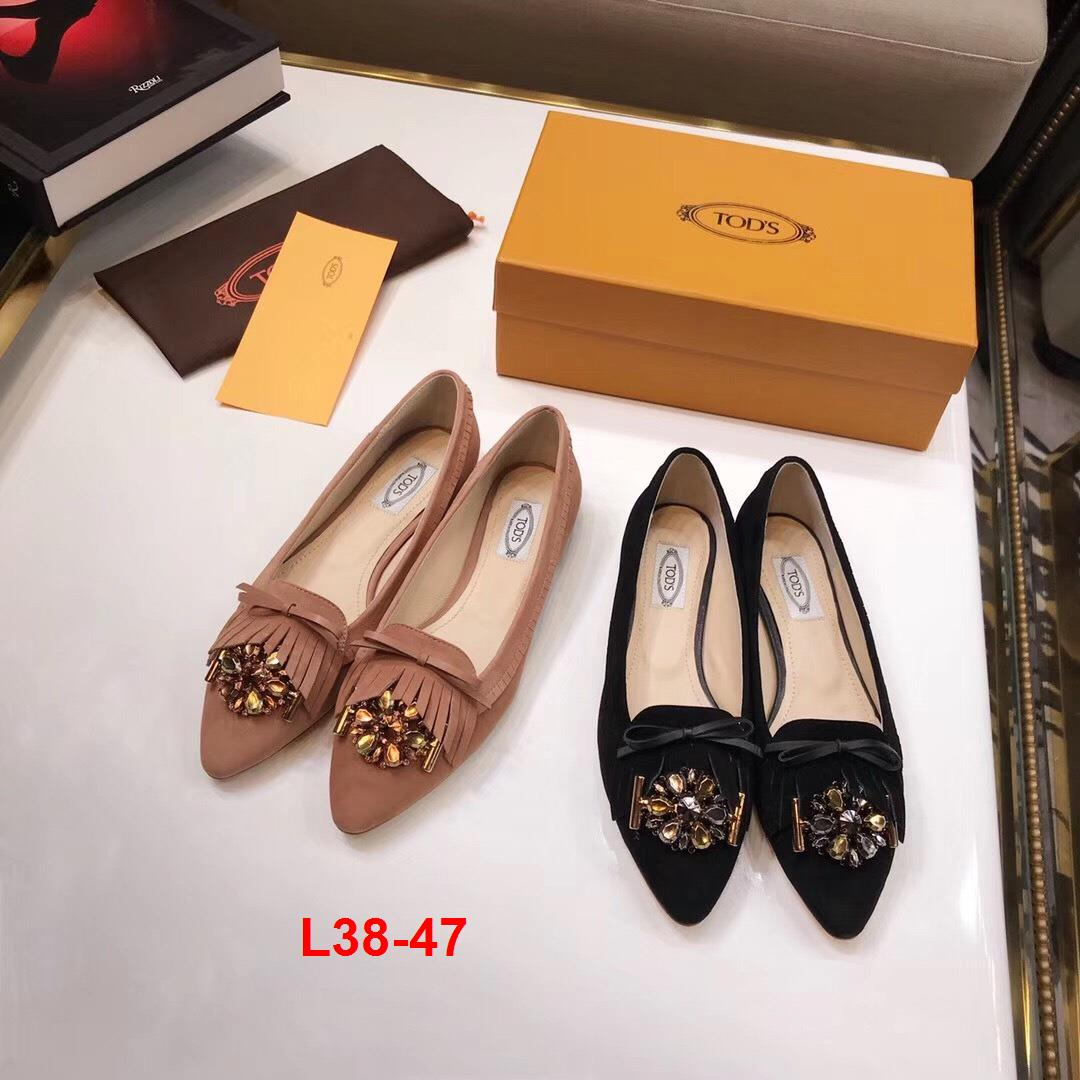 L38-47 Tods giày bệt siêu cấp