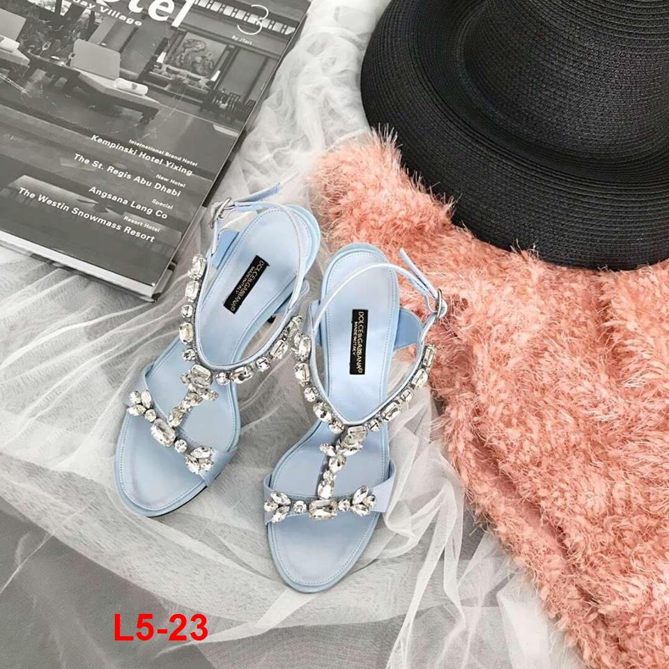 L5-23 Dolce Gabbana sandal cao 10cm siêu cấp