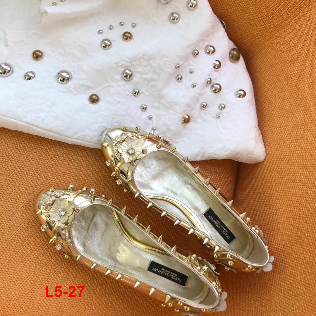 L5-27 Dolce Gabbana giày cao 6cm siêu cấp