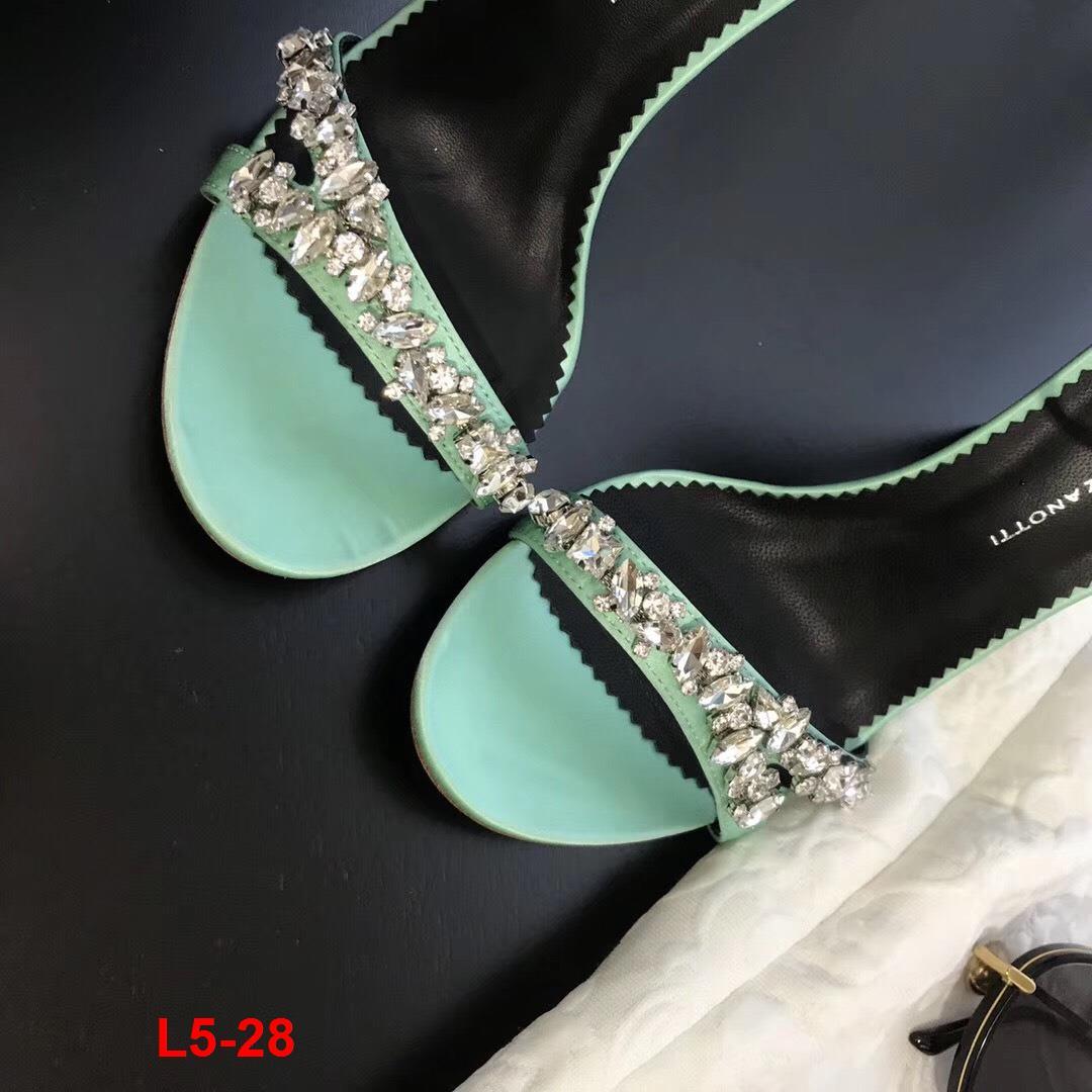 L5-28 Giuseppe Zanotti Gz sandal cao 10cm siêu cấp