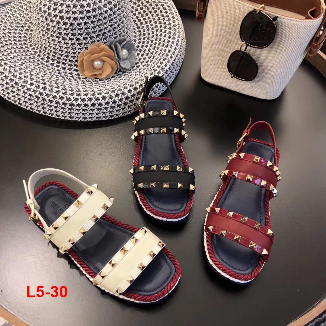 L5-30 Valentino sandal bệt siêu cấp