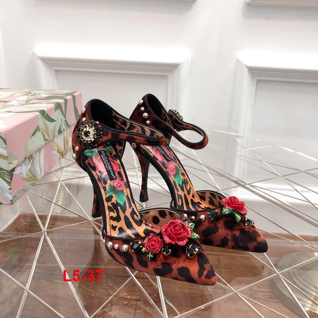 L5-37 Dolce Gabbana sandal cao 10cm siêu cấp