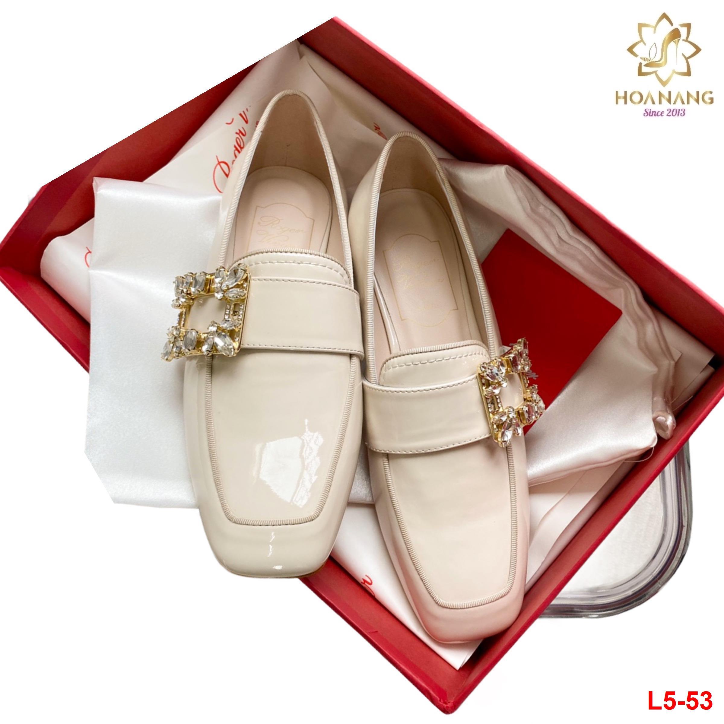 L5-53 Roger Vivier giày lười siêu cấp