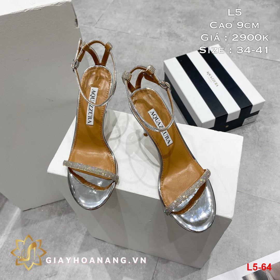 L5-64 Aquazzura sandal cao 9cm siêu cấp