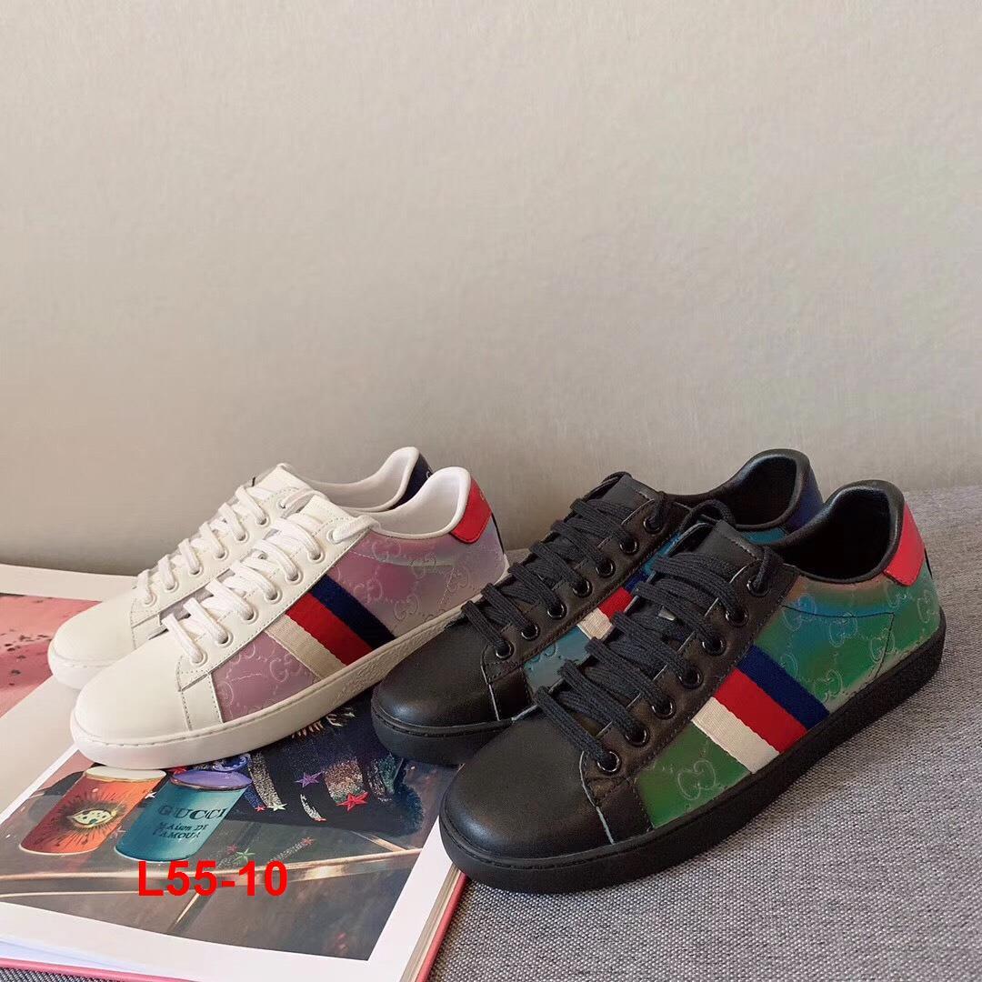 L55-10 Gucci giày thể thao siêu cấp