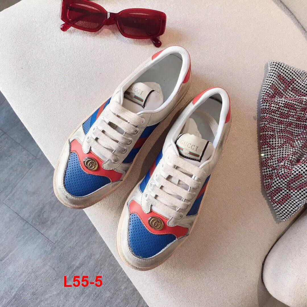 L55-5 Gucci giày thể thao siêu cấp