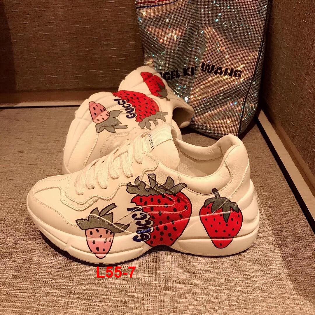 L55-7 Gucci giày thể thao siêu cấp