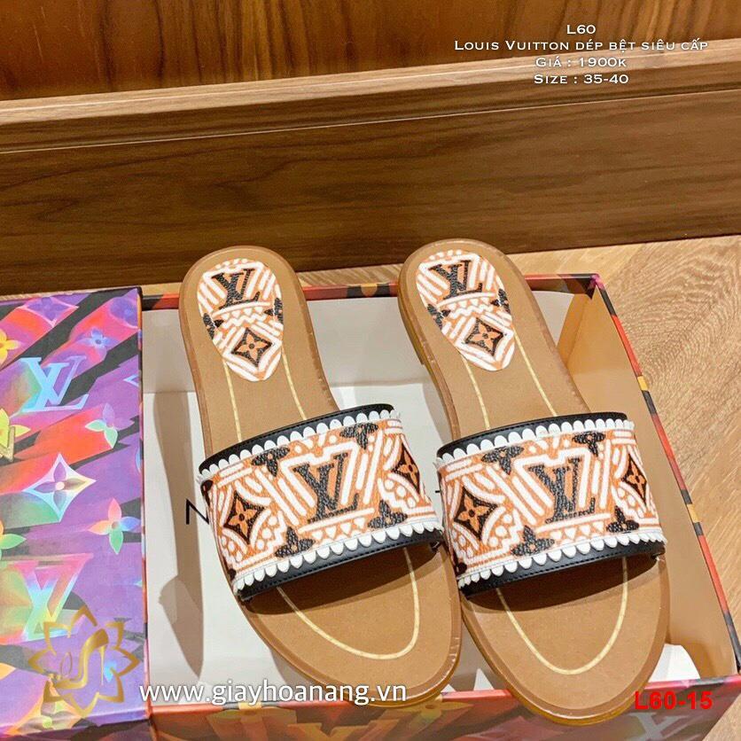 L60-15 Louis Vuitton dép bệt siêu cấp
