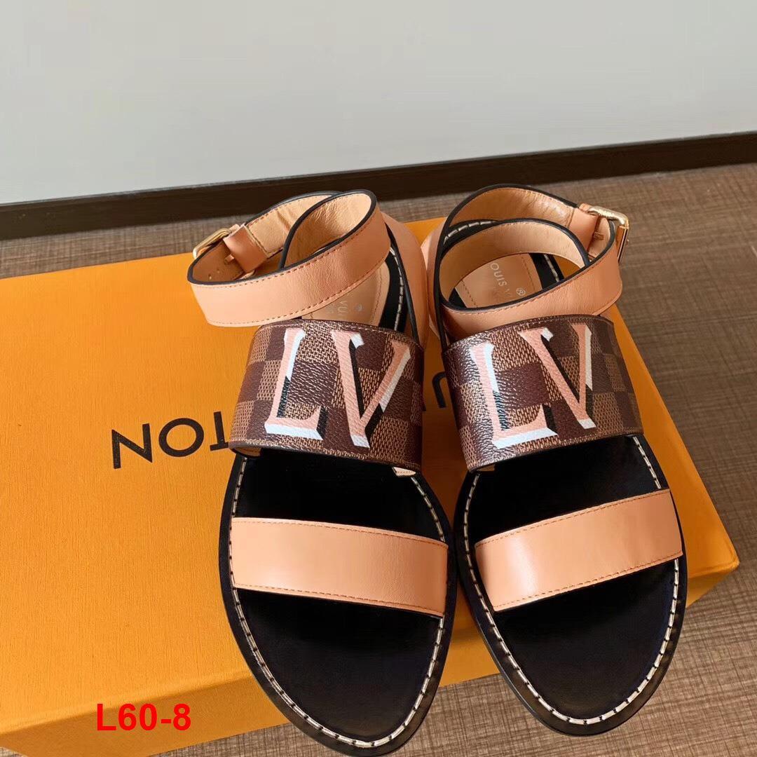 L60-8 Louis Vuitton sandal bệt siêu cấp