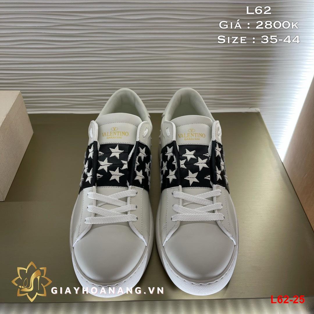 L62-25 Valentino giày thể thao siêu cấp