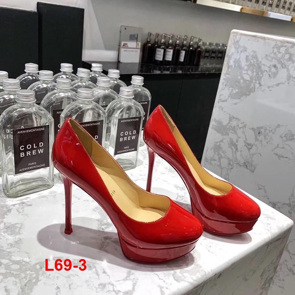 L69-3 Louboutin giày cao 13cm siêu cấp