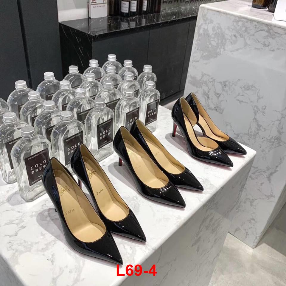 L69-4 Louboutin giày cao 10cm, cao 8cm, cao 6cm siêu cấp