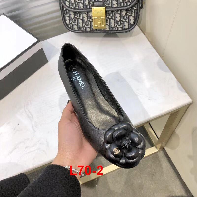 L70-2 Chanel giày bệt siêu cấp