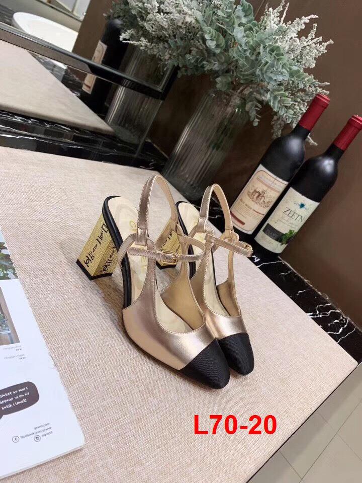 L70-20 Chanel sandal cao 8cm siêu cấp
