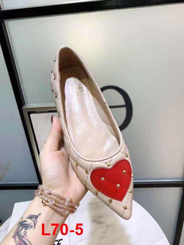 L70-5 Valentino giày bệt siêu cấp