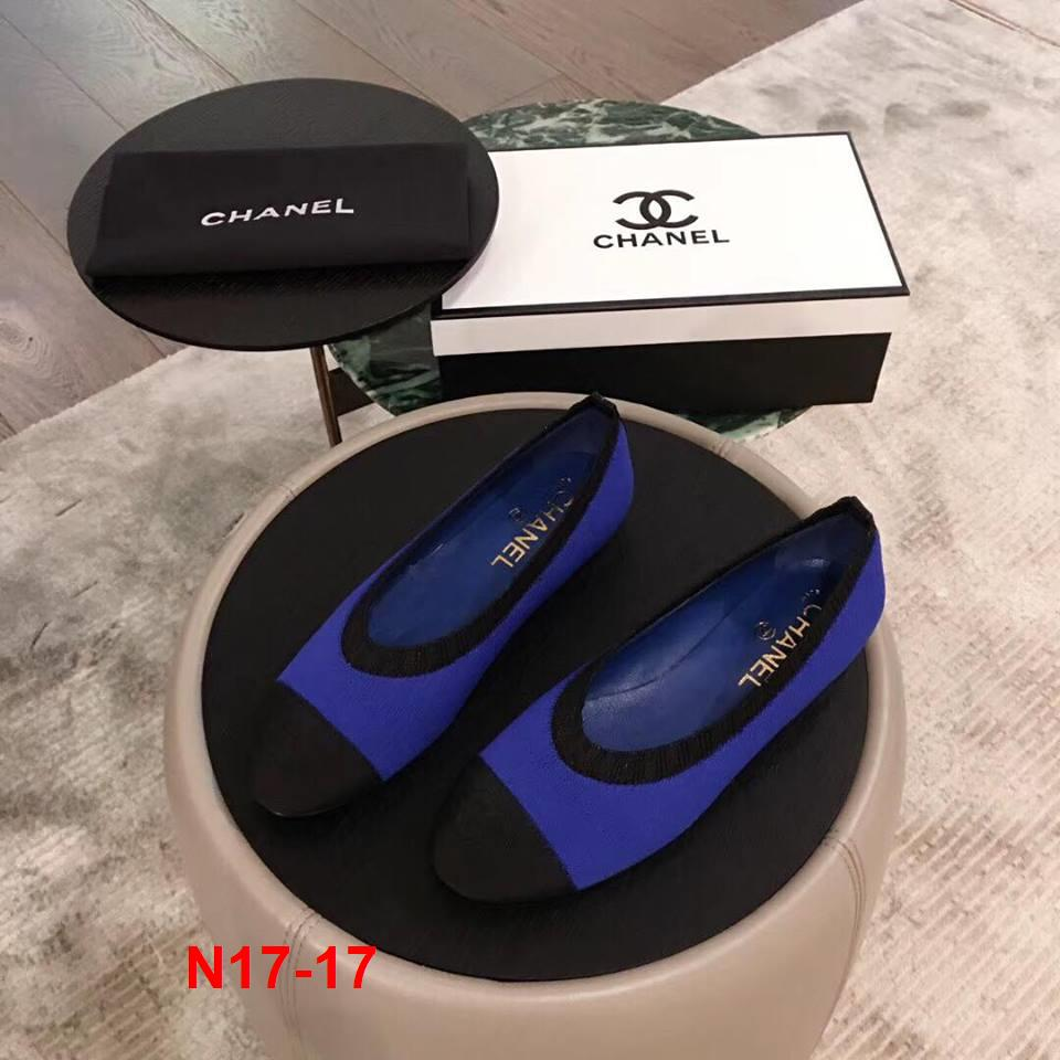 N17-17 Chanel giày bệt siêu cấp