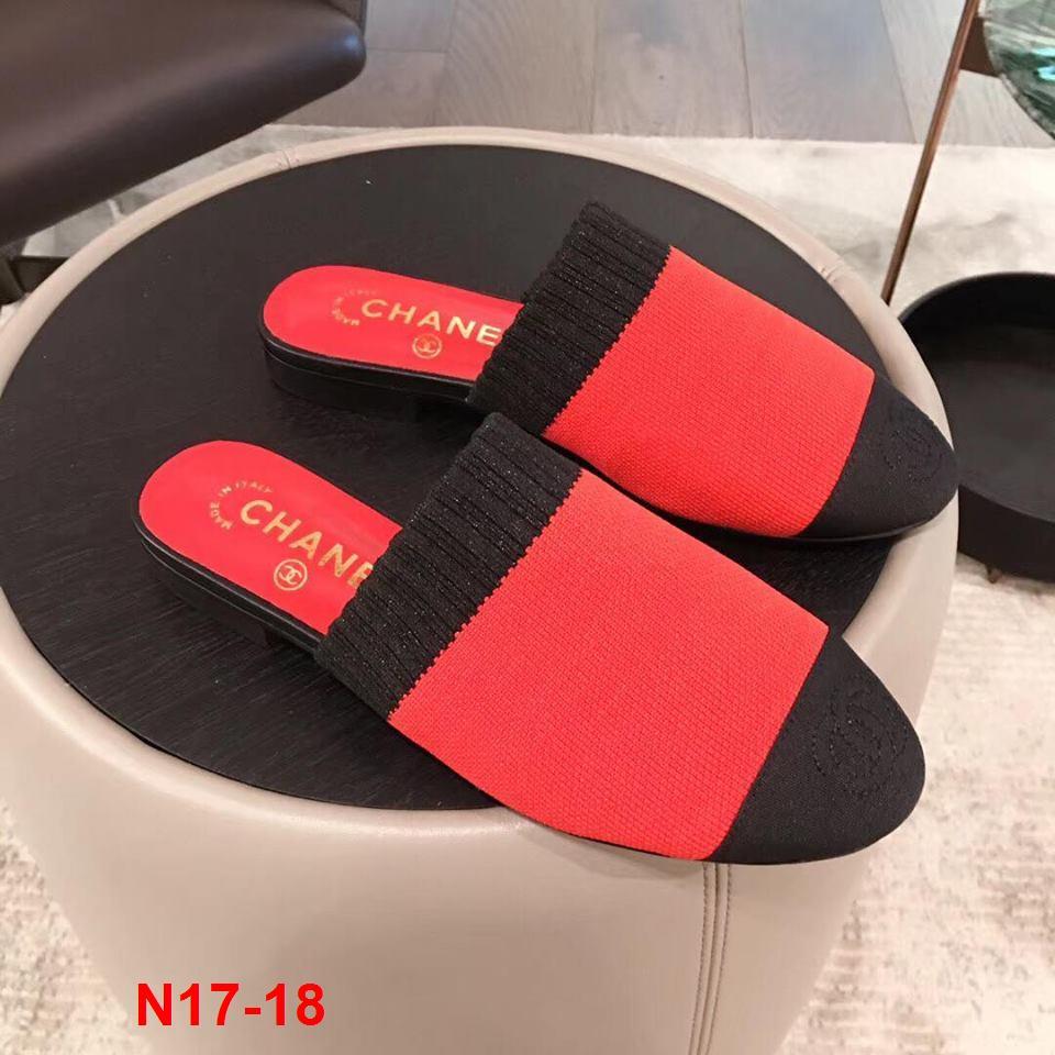N17-18 Chanel dép bệt siêu cấp