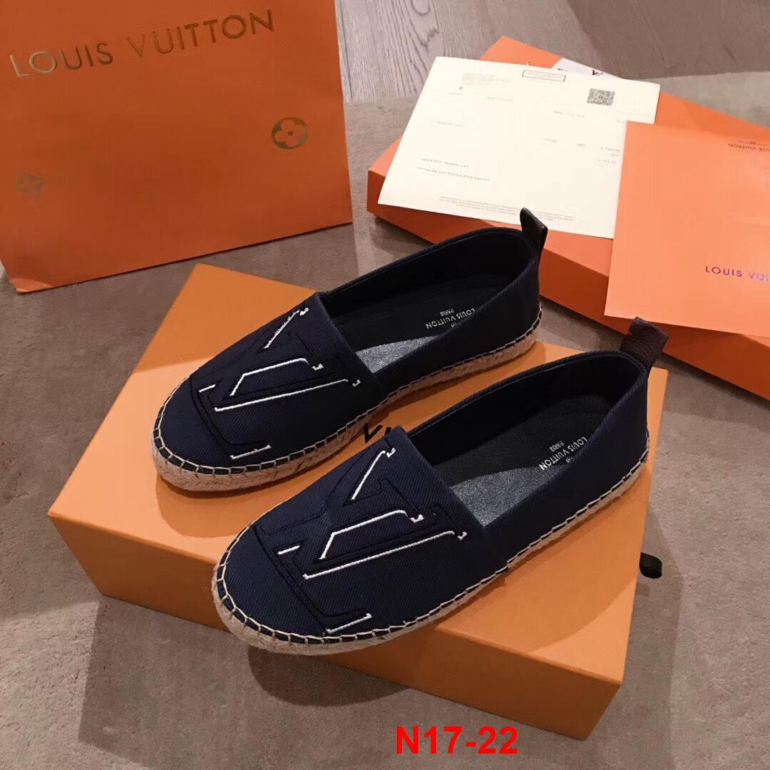 N17-22 Louis Vuitton giày lười siêu cấp