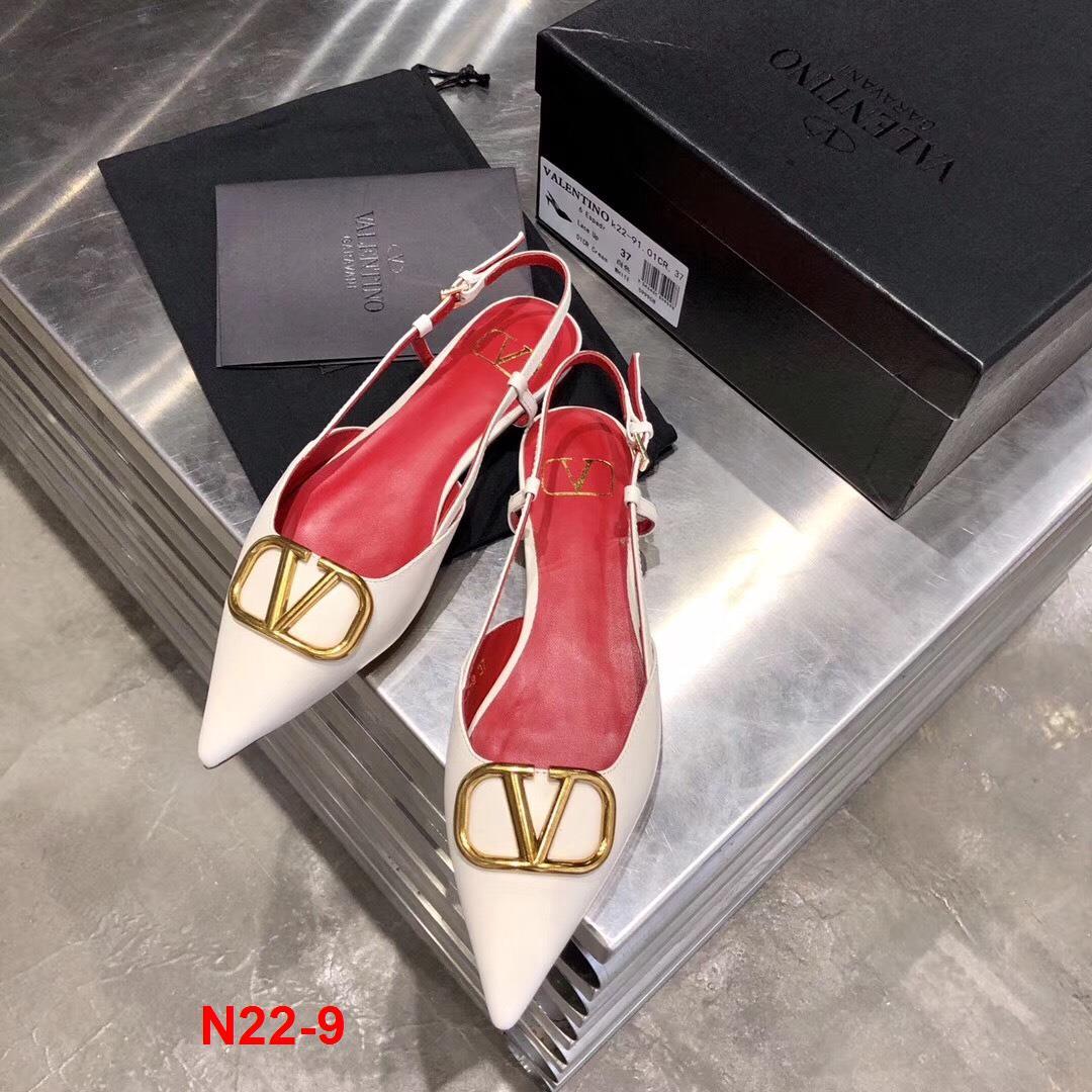 N22-9 Valentino sandal bệt siêu cấp