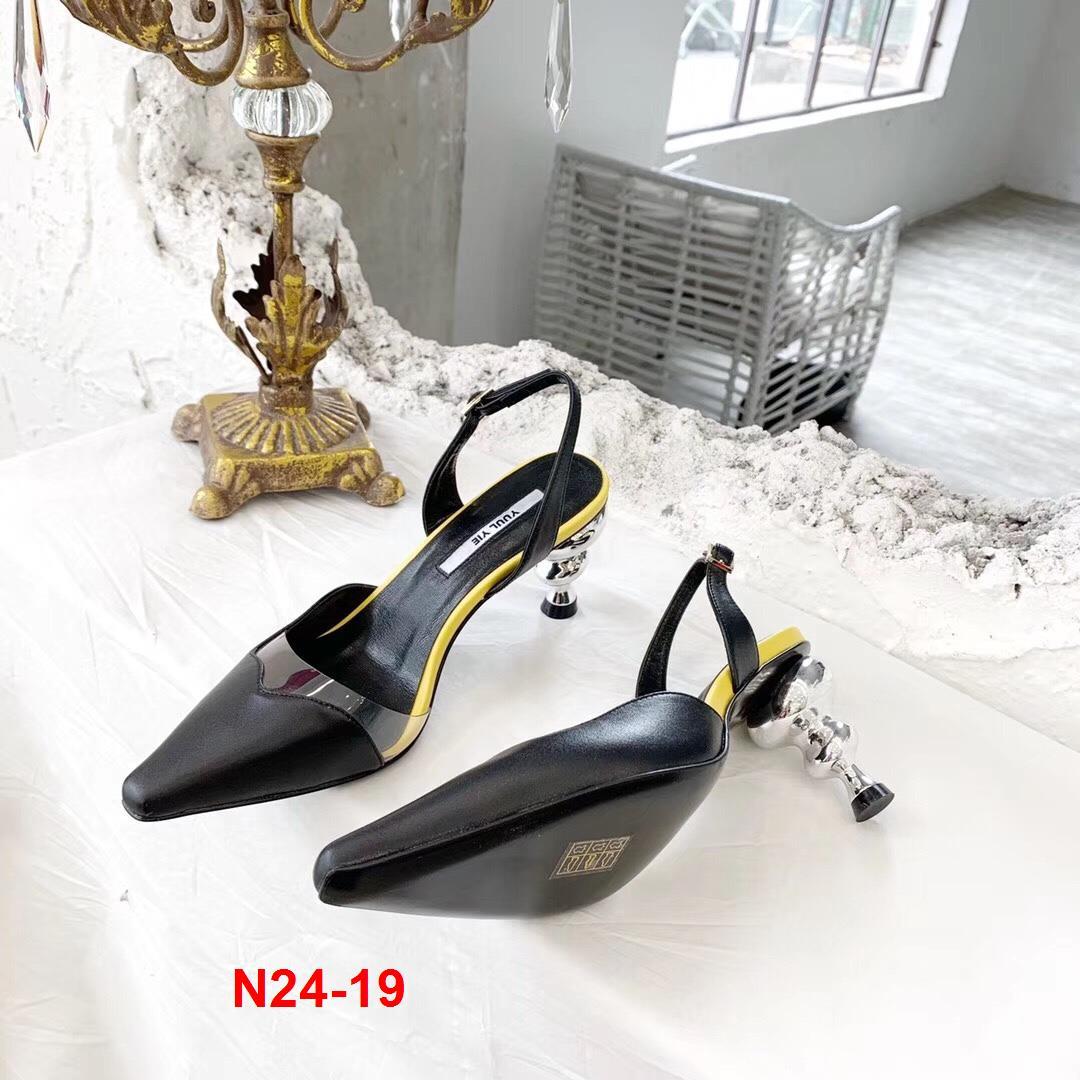 N24-19 Yuul Yie sandal cao 7cm siêu cấp