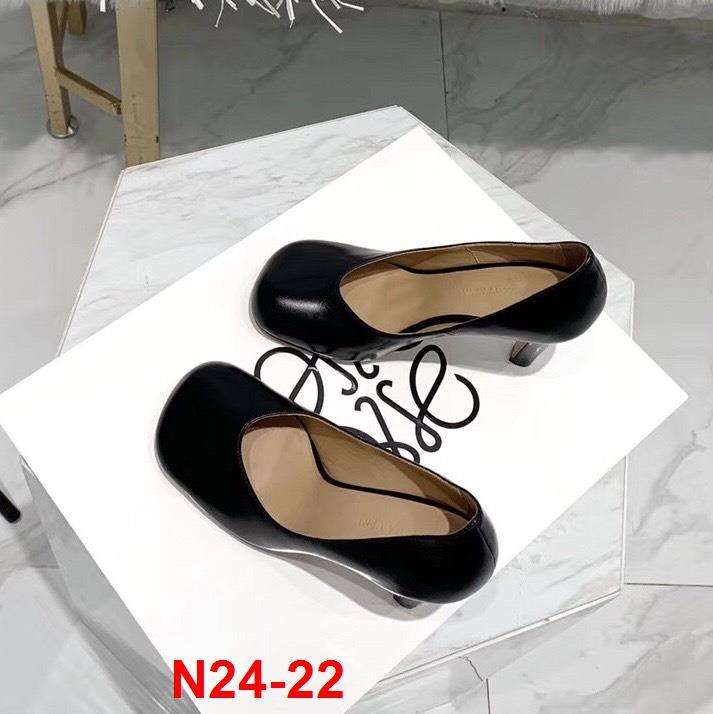 N24-22 Bottega Veneta giày cao 9cm siêu cấp