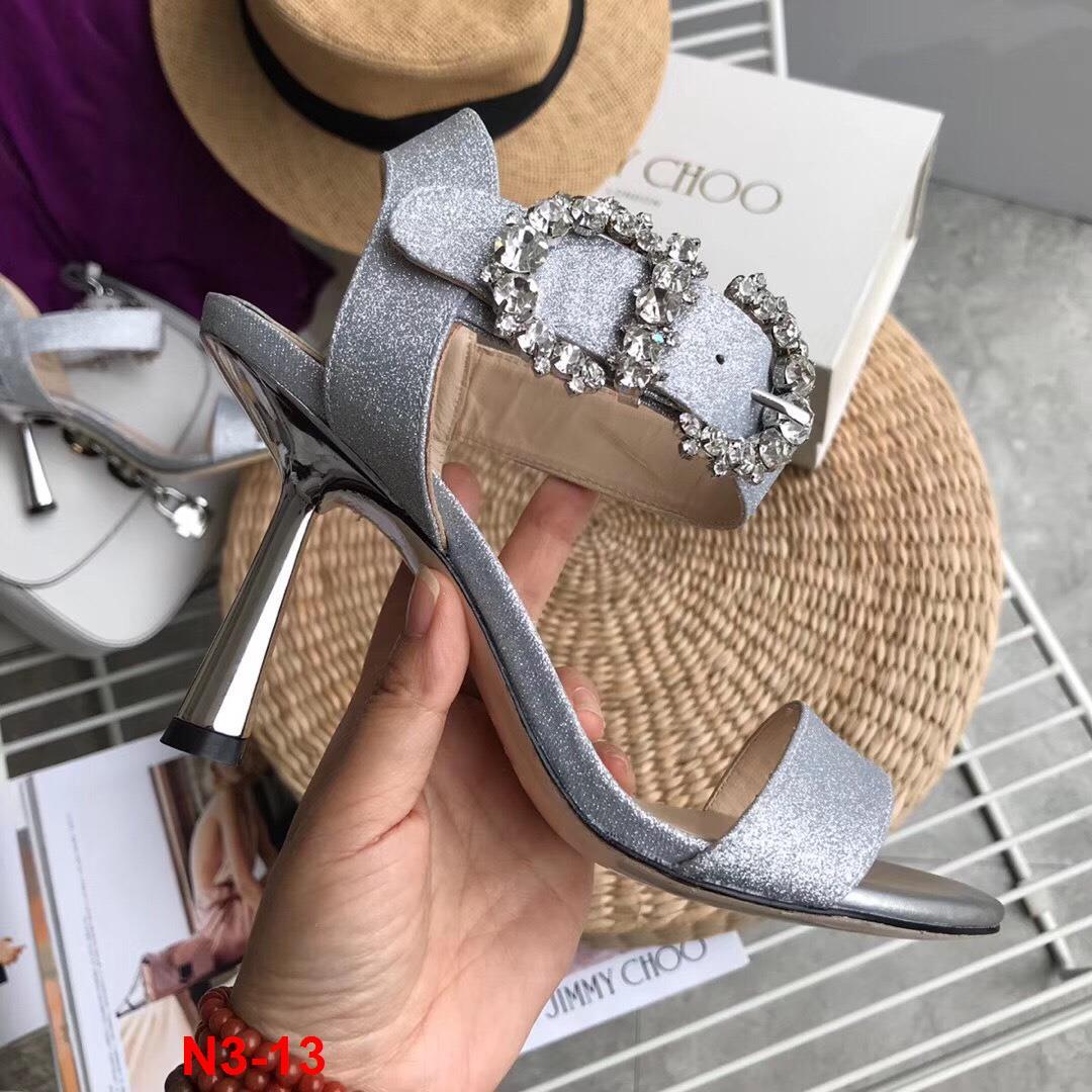 N3-13 Jimmy Choo sandal cao 8cm siêu cấp