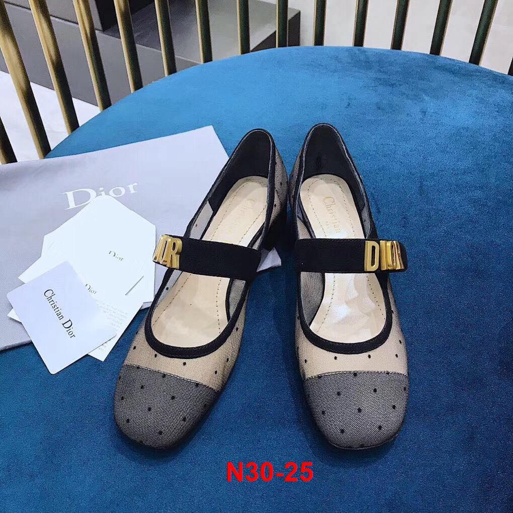 N30-25 Dior giày cao 3cm siêu cấp