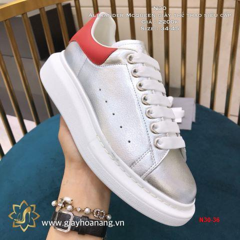 N30-36 Alexander Mcqueen giày thể thao siêu cấp