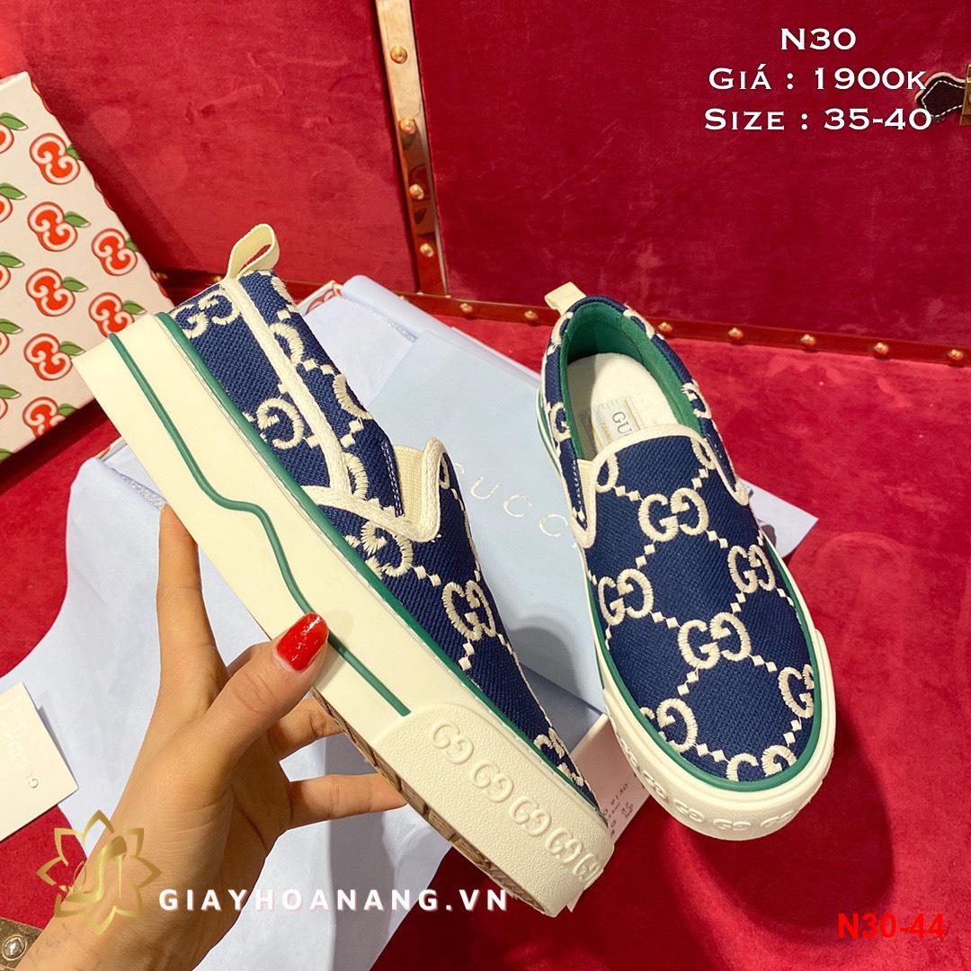 N30-44 Gucci giày lười siêu cấp