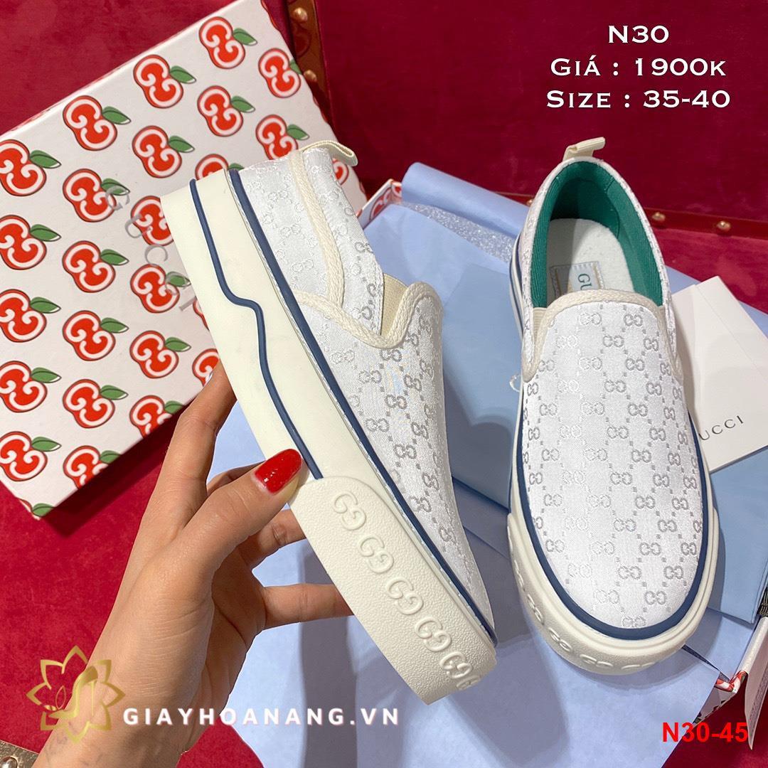 N30-45 Gucci giày lười siêu cấp