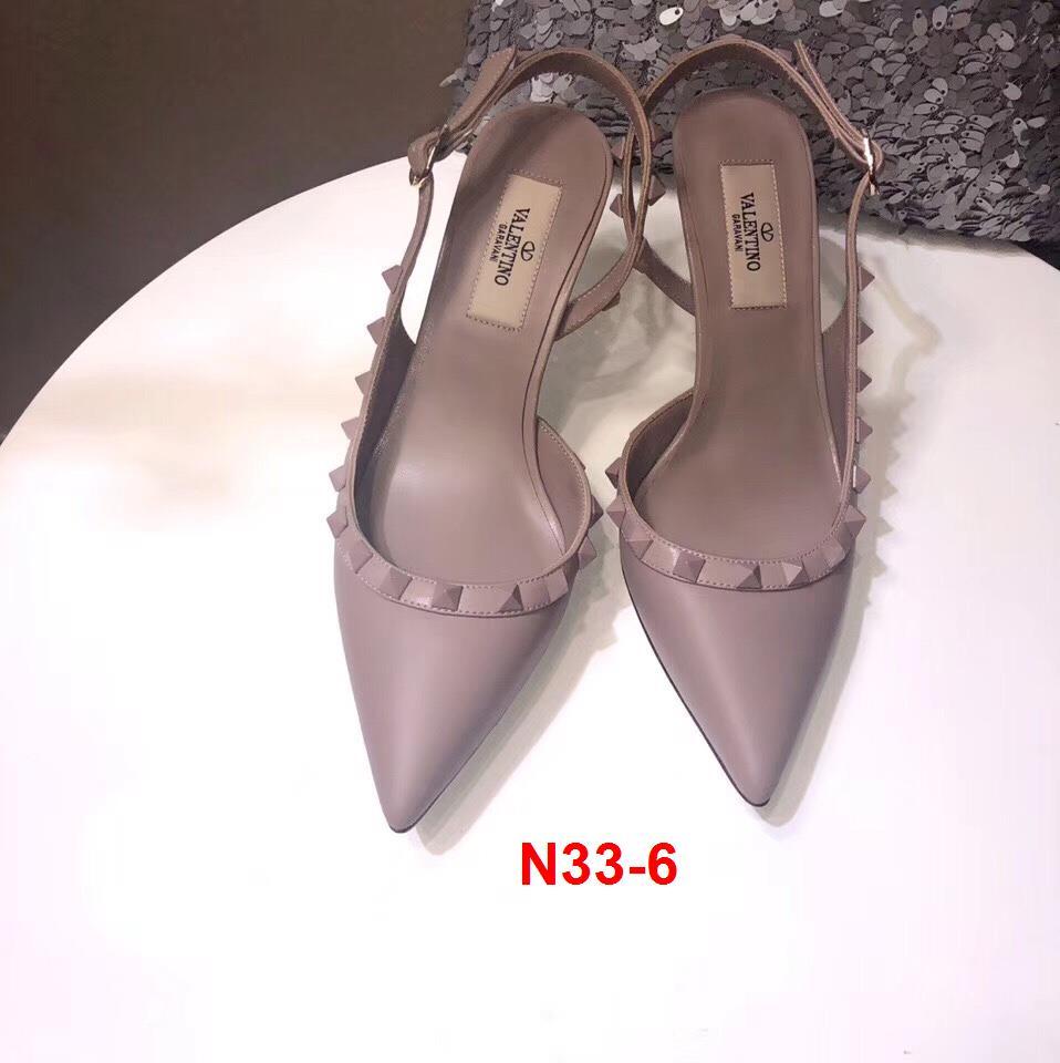 N33-6 Valentino sandal cao 8cm siêu cấp