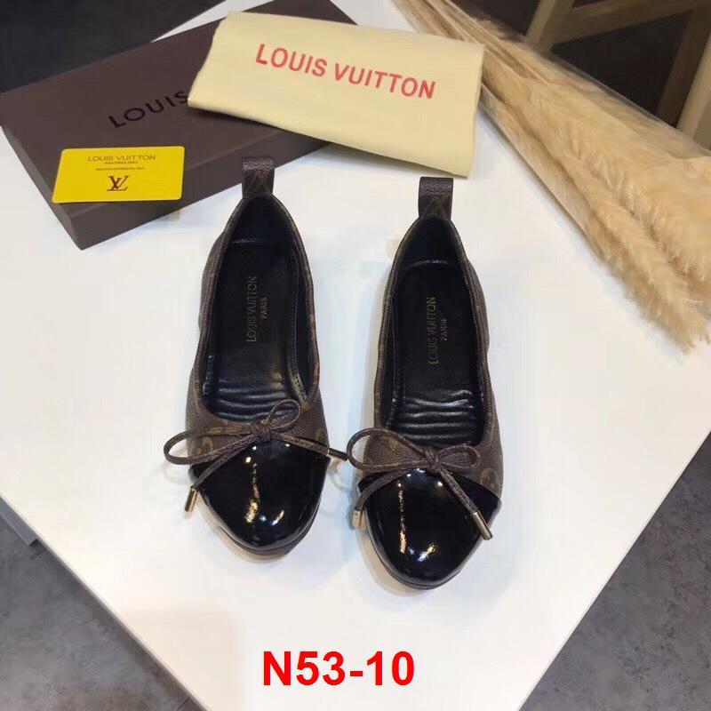 N53-10 Louis Vuitton giày bệt chun siêu cấp