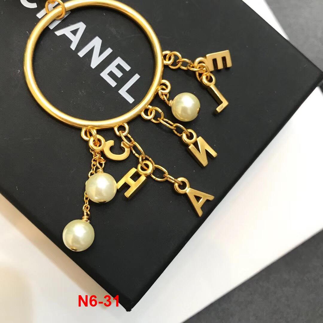 N6-31 Chanel phụ kiện nhẫn, khuyên tai, vòng tay siêu cấp