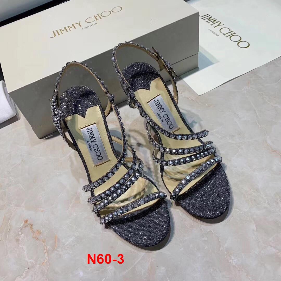 N60-3 Jimmy Choo sandal cao 9cm siêu cấp