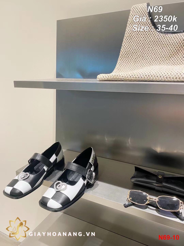 N69-10 Zarqua giày bệt siêu cấp
