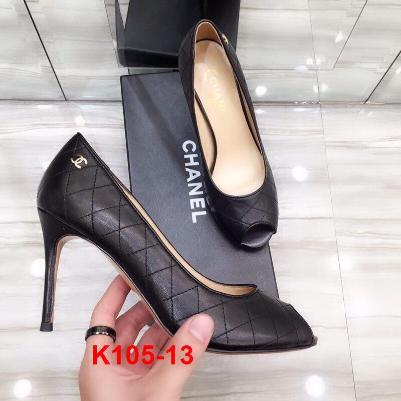 L67 -  Chanel giày cao 9cm siêu cấp