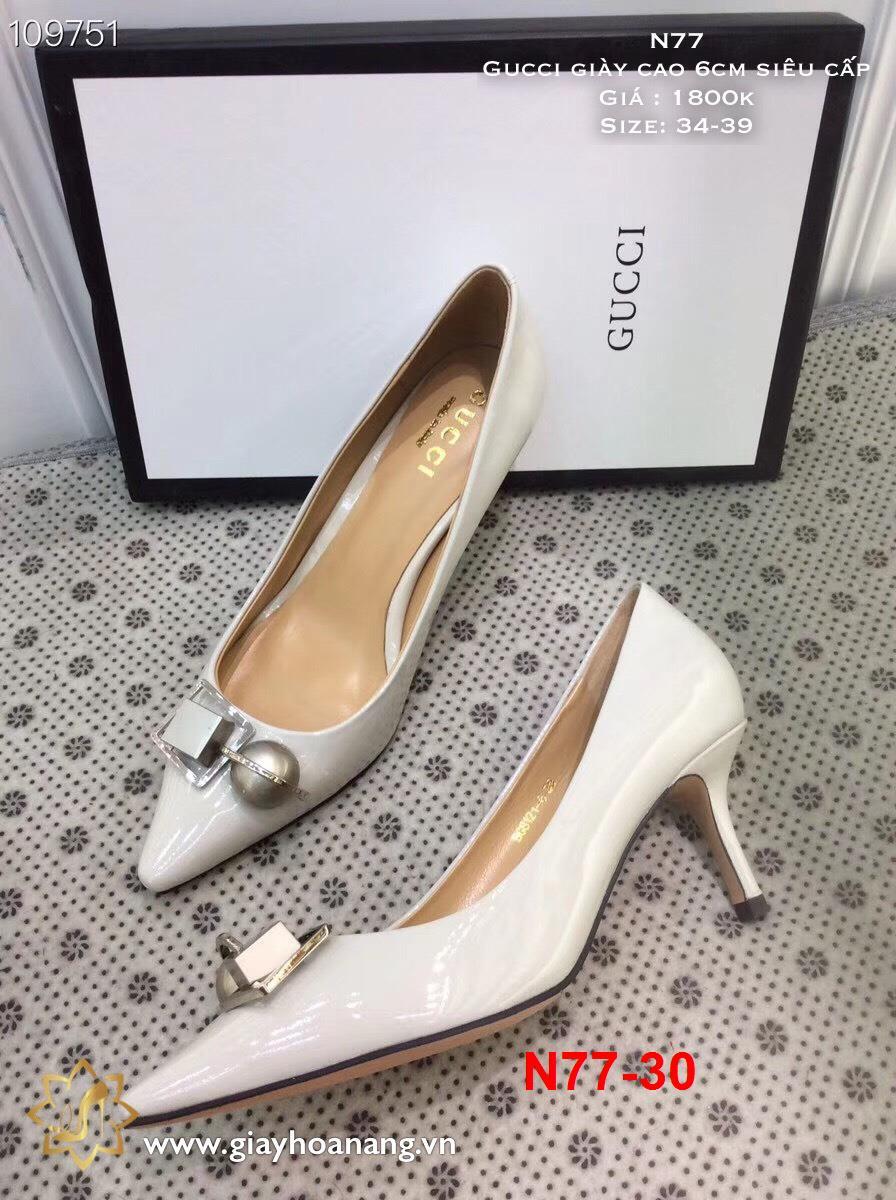 L67 -  Gucci giày cao 6cm siêu cấp