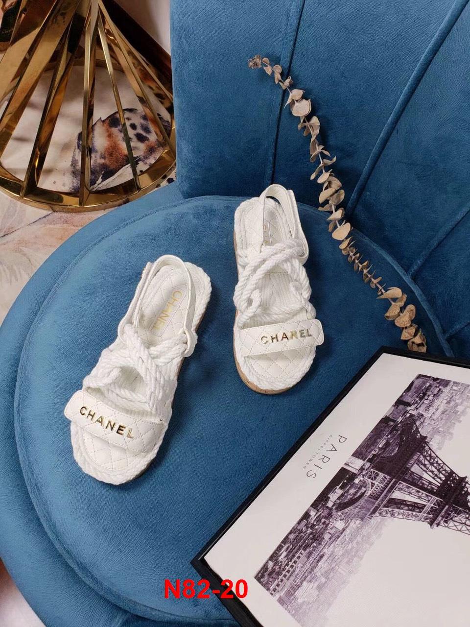 N82-20 Chanel sandal bệt siêu cấp