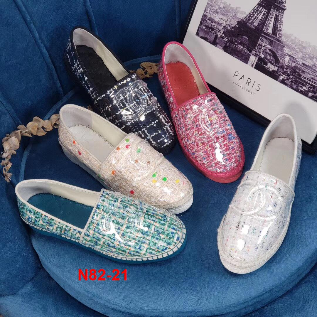N82-21 Chanel giày lười siêu cấp