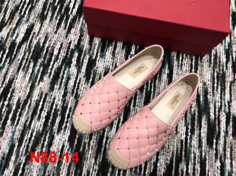 N88-14 Valentino giày lười siêu cấp