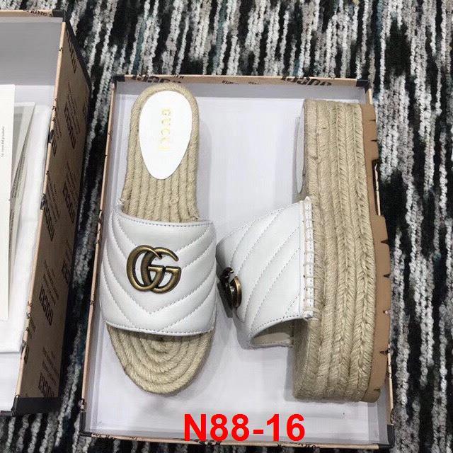 N88-16 Gucci dép đế cói siêu cấp