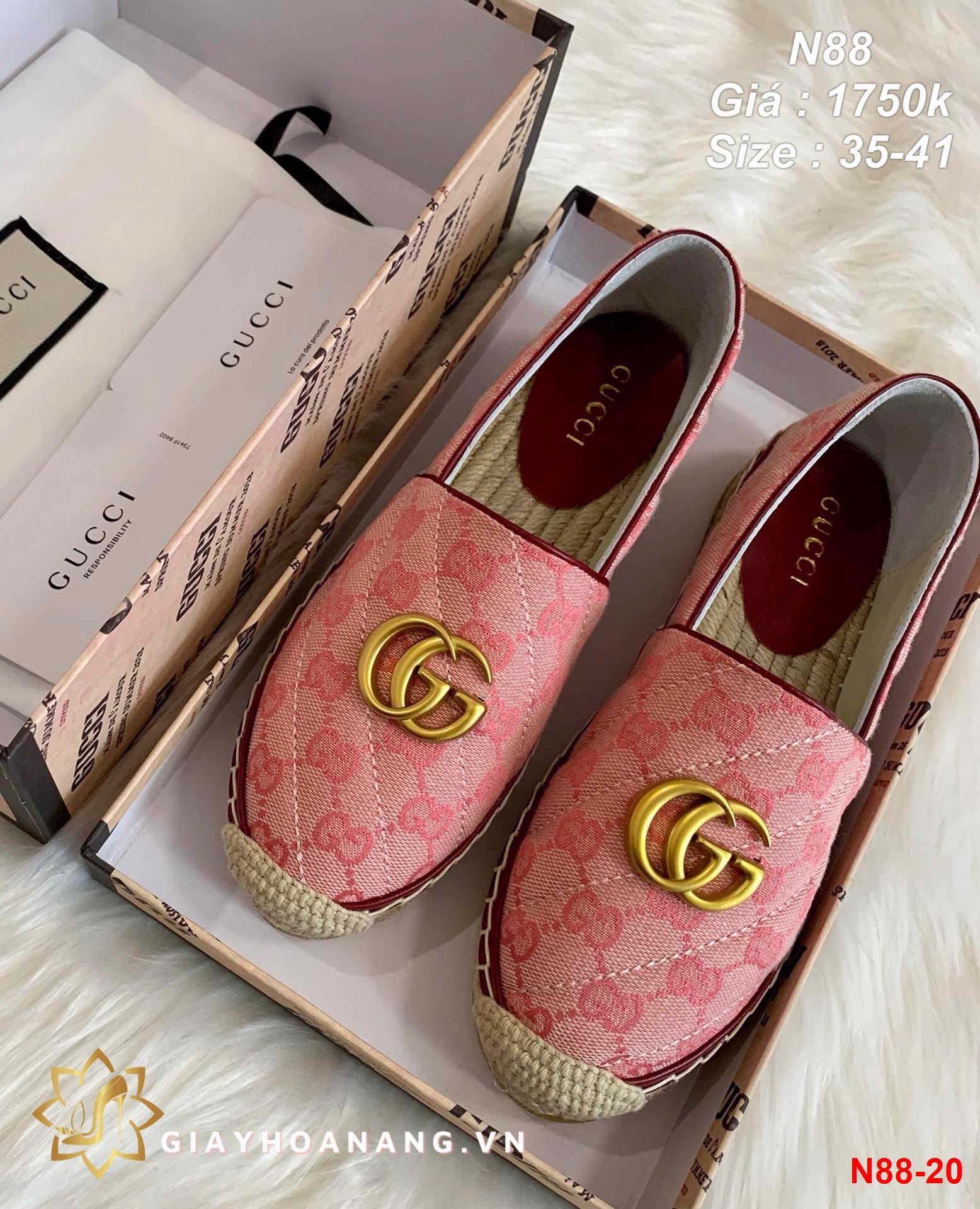N88-20 Gucci giày lười siêu cấp