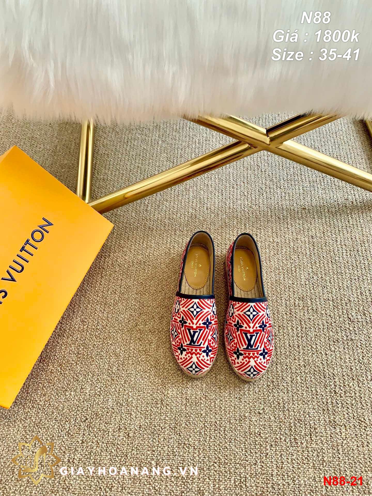N88-21 Louis Vuitton giày lười siêu cấp